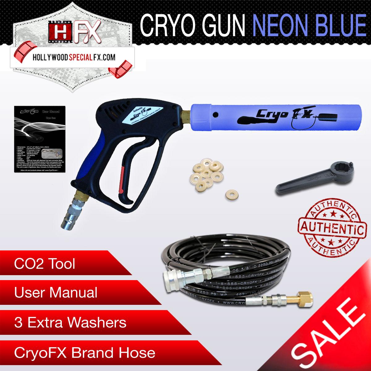 Cryo Gun NEON Blue