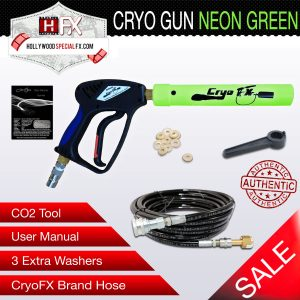 Cryo Gun NEON Green