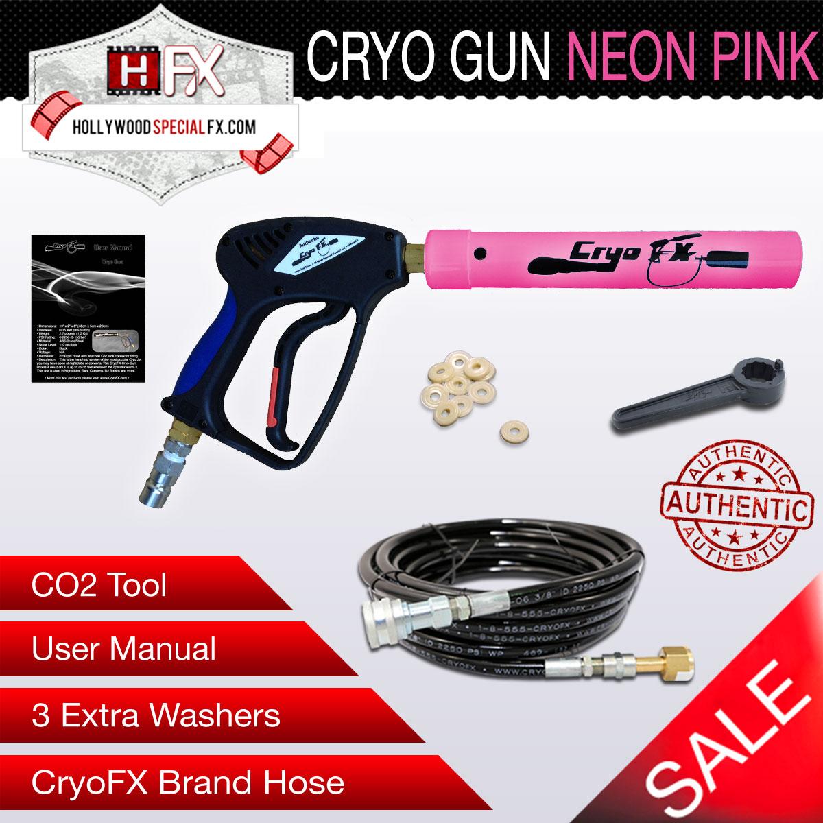 Cryo Gun NEON Pink