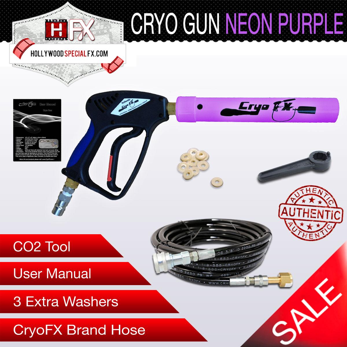 Cryo Gun NEON Purple