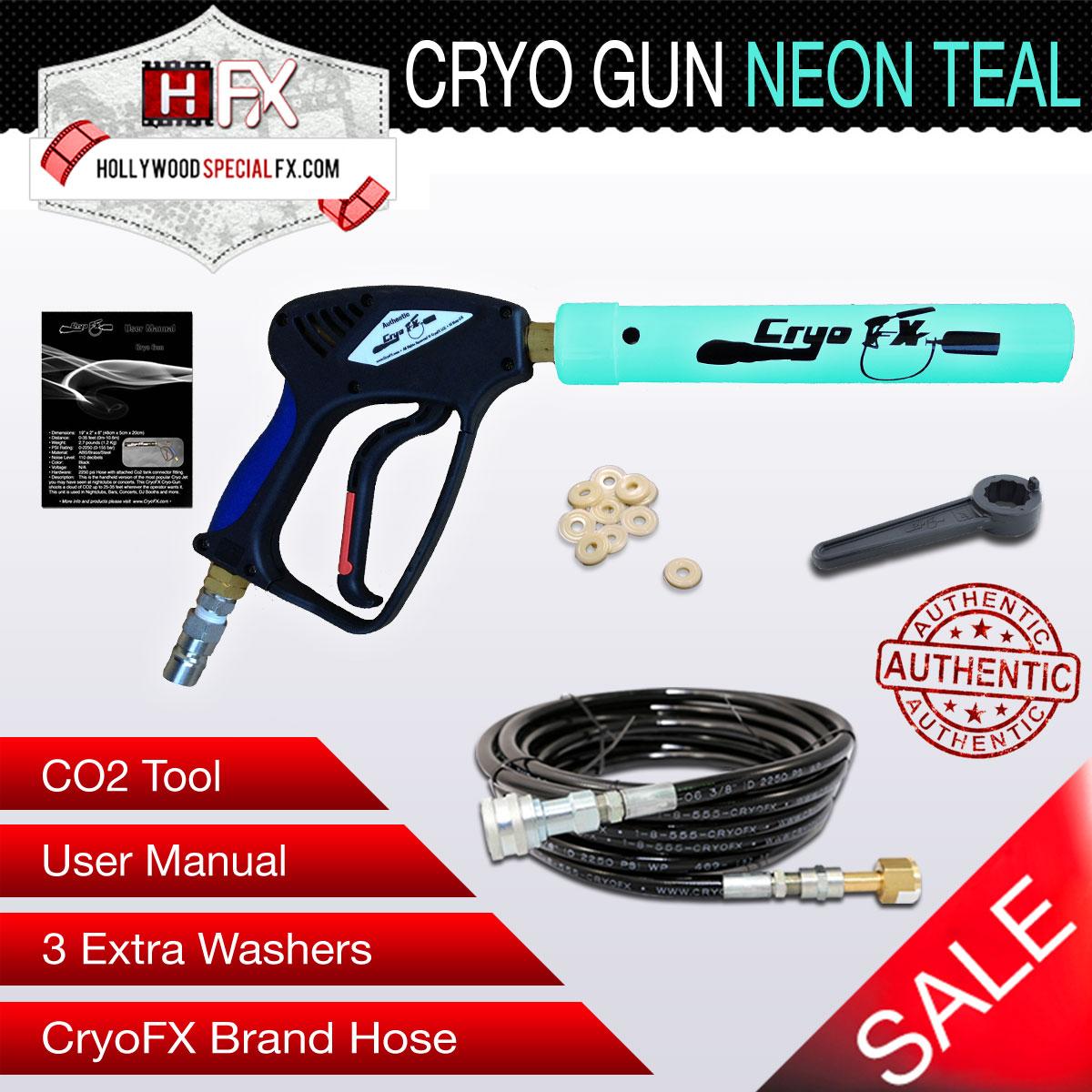 Cryo Gun NEON Teal