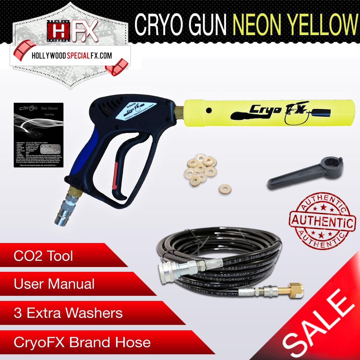 Cryo Gun Neon Yellow