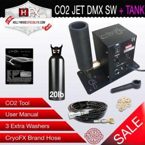 CO2 DMX Switchable T20