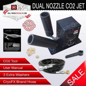 CO2 Dual Nozzle Jet