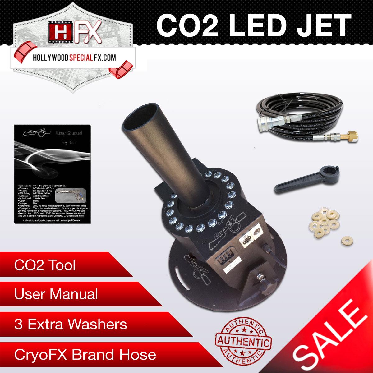 CO2 LED Jet