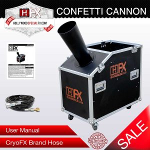 Hollywood Special Effects Equipment - Special Effects Company - Big Confetti Cannon for Sale